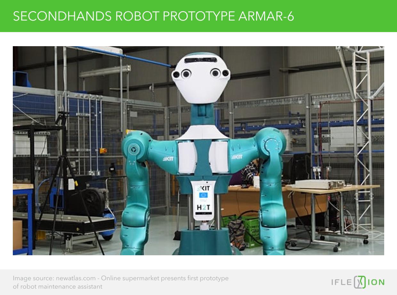 Secondhands Robot Prototype ARMAR-6