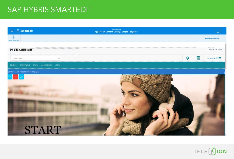SAP Hybris SmartEdit