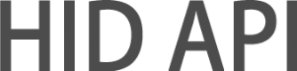 HID API